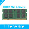 Wholesale ETT original chips memory ram ddr2 667mhz laptop