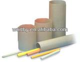 Round molded tubes