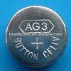 AG3 LR41 alkaline button cell ag battery