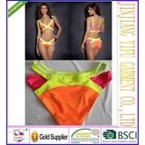 2014 Hottest Sexy Women Bandage Bra Padded Bikini Swimwears for women Halter Swimsuit Brand New Swimsuit size S/M/L