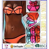 2014 Sexy Women's Fashion Swimwears MILLY Neoprene Bikinis Woman Neoprene Swimsuit Set Push Up Bikini Set XS-L FREE SHIPPING
