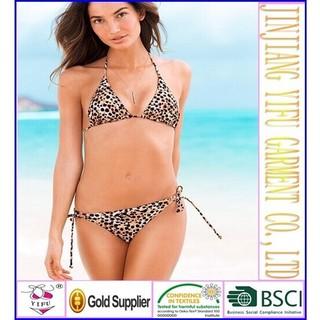 High quality hot fashion brazilian girl bikini swimwear