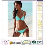 2014 Bikini swimwear women push up pad Free Shipping Sexy Fashion Good Quality Swimsuit gift New !
