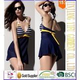 Summer 2014 New Sexy One Piece Swimsuit Plus Size Swim dress swimming suit for women XXXL