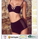Details about Sexy Retro Black Push-up Padded High Waist Bikini Swimsuit Beachwear Swimwear