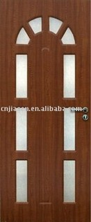 flush glass door