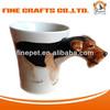 High Quanlity Ceramic 3D Dog Mug
