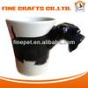 Low MOQ Ceramic Mug With Dog Design