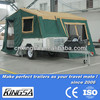Kingsa camper trailer with 3-4 person camper trailer tent