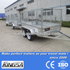 Kingsa CE approved hot dip galvanised cargo box trailer