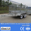 Kingsa CE approved hot dip galvanised mini trailer sale