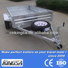 Kingsa CE approved trailer with galvanized steel trailer frame