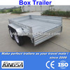 Kingsa CE approved hot dip galvanized small atv trailer