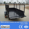 Kingsa CE approved premium powder coated box trailer