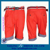 Men's shorts leisure shorts red PS12C07