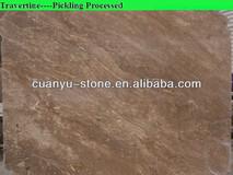 chinese brown travertine marble tile floors