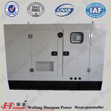 Full Automatic System In A Silent Box,Output 100kw Silent Diesel Generator