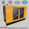 100kva Soundproof Engine Generator Six Cylinder Engine brushless Alternator Full Automatic Generator