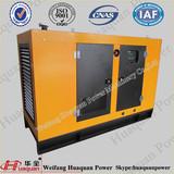 100kva Soundproof Engine Generator Six Cylinder Engine brushless Alternator Full Automatic Generator