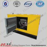10kva-20kva Soundproof Power Generators,With Isuzu Series Engine,Low consumption