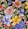 Flower pattern water transfer printing film for shoes decoration