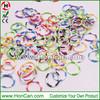 Fashion rainbow rubber loom bands/DIY Twistz loom bands