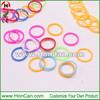NEWEST Colorful rainbow elastic band loom bands