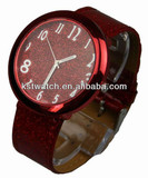 colorful big case lady watch 10 colors to choose