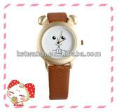 wholesale valentine leather straps quartz watch
