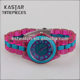 High quality waterproof plastic watches