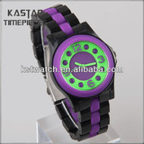 Cheap custom plastic wrist watch