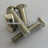 Countersunk machine screw