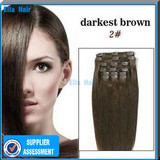 2013 Cheap Clip in Hair Extensions/Clip in Human Hair Extensions Remy clip-in Hair Extensions On Wholesales