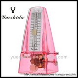 Mechanical Transparent Metronome-CHINA made,Wholesale,High Accuracy Metronome, Musical instrument Accessories