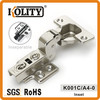 Inseparable hydraulic cabinet furniture hinge (inset)
