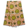 Hot sale river snail print design high quality 100% cotton printed wax fabric