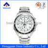 Men's Chronograph watch high quality quartz stainless steel watches