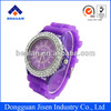 2013 Hot Silicone Watch Promotional Silicone Watches Silicone Geneva Jelly Watches 12 Colors Quartz Watch For Women Men