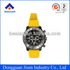 5ATM Water resistance silicone watch with high quality fashion wrist watch for unisex