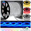 Hot sale waterproof led strip 110V 220V led strip 8mm white PCB 5050 100m/roll led strip light 220-240v