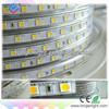 Hot sale waterproof led strip 110V 220V outdoor led strip light 60leds/meter 8mm width PCB