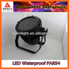 stage led par light waterproof rgbw 54pcs led par can 3w