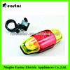 5 red LED rear bicycle light tail light cycling light