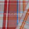 China cheap low MOQ 100% cotton yarn dyed plaid woven shirting poplin wholesale fabric