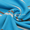 100% cotton pique yarn dyed feeder stripe knitted fabric for polo shirt