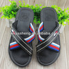 2013 men hot new pu slipper slippers latest design slippers CRAZY HORSE EVA TPR meshbelt crossover SLIPPER