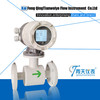 New type magnetic flow meter
