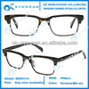 Acetate Eyeglass Frame With Metal Optical Eyeglasses Frame