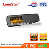 New 2013 factory direct supply private mold Full HD Dual Cameras Rearview Mirror Car DVR D67 with night vision