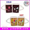 Factory custom wedding guest gift color change mugs